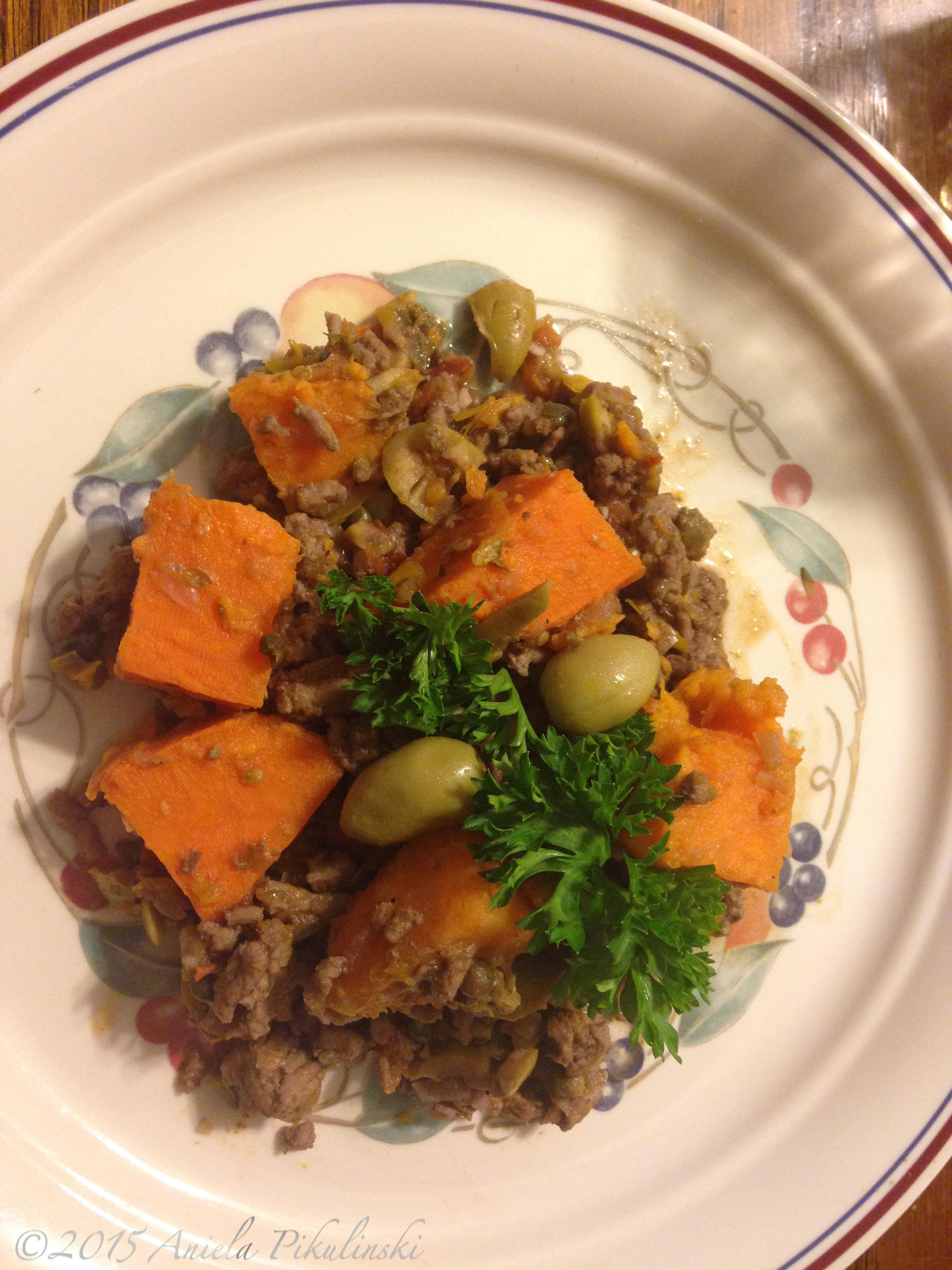 Turkey Picadillo - Life with Aniela
